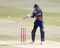 Zak Crawley bats for Kent during Kent Spitfires vs Sussex Sharks, Vitality Blast T20 Cricket at The Spitfire Ground on 12th September 2020