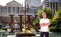 LAS VEGAS, NV - April 28, 2017: ***HOUSE COVERAGE*** Gordon Ramsay pictured as  Chef Gordon Ramsay announces the world's first Hell's Kitchen Restaurant at Caesars Palace in Las vegas, NV on April 28, 2017. Credit: Erik Kabik Photography/ MediaPunch