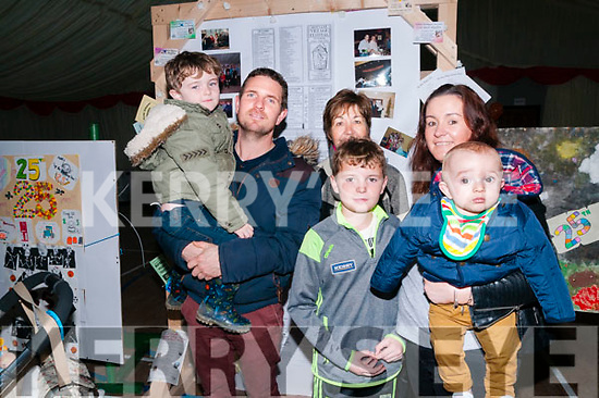 Moyvane Village Fesatival; Attending the Moyvane Village Festival on Sunday last were Donagh & Donnacha Maloney, Bridie Griffin &  Marian Cadan & Moya Maloney.