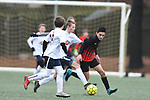Germantown Legends vs. Birmingham United in US Youth Soccer Southern Regional Premier League at W.C. Johnson Park in Collierville, Tenn. on Saturday, February 11, 2018. The match ended 1-1.