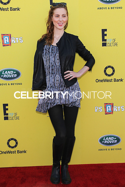 SANTA MONICA, CA, USA - NOVEMBER 16: Eva Amurri Martino arrives at the P.S. ARTS Express Yourself 2014 held at The Barker Hanger on November 16, 2014 in Santa Monica, California, United States. (Photo by Celebrity Monitor)