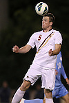 01 November 2012: Boston College's Nick Corliss (NZL). The University of North Carolina Tar Heels played the Boston College Eagles at Fetzer Field in Chapel Hill, North Carolina in a 2012 NCAA Division I Men's Soccer game. UNC defeated Boston College 4-0.