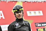 Wanty-Gobert Cycling Team at sign on before the start of Stage 2 of Il Giro di Sicilia running 236km from Capo d'Orlando to Palermo, Italy. 4th April 2019.<br /> Picture: LaPresse/Fabio Ferrari | Cyclefile<br /> <br /> <br /> All photos usage must carry mandatory copyright credit (© Cyclefile | LaPresse/Fabio Ferrari)