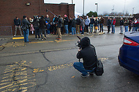 Documentary crew records customers waiting in line for the opening of Holy Chicken, a fast food restaurant started by Morgan Spurlock.  <br /> <br /> Morgan Spurlock opens &quot;Holy Chicken,&quot; a faux fast food restaurant in Columbus, Ohio, where a documentary crew recorded his interaction with customers who thought they were dining at a new type of fast food restaurant. However, the entire location was designed to be part of his documentary highlighting the marketing of food that may not be as healthy as it is stated in advertisement, banners, and notices at the restaurant.