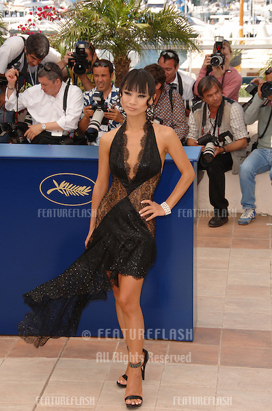 "Actress BAI LING at the photocall for ""Southland Tales"" at the 59th Annual International Film Festival de Cannes..May 17, 2006  Cannes, France..© 2006 Paul Smith / Featureflash"