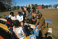 December 1976. Americus, Georgia. Student activities at Americus County Elementary School, where Jimmy Carter also studied.