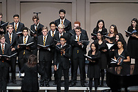 Glee Club Annual Homecoming Concert, part of Homecoming and Family Weekend 2018, on Saturday, Oct. 20, 2018 in Thorne Hall.<br /> (Photo by Marc Campos, Occidental College Photographer)