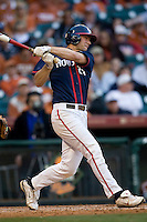 Houston Cougars Matt Murphy against the Texas Longhorns on Saturday March 6th, 2100 at the Astros College Classic in Houston's Minute Maid Park.  (Photo by Andrew Woolley / Four Seam Images)