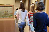 Guests Browsing the Galleries at the Yale Center for British Art Undergraduate Open House '12