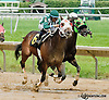 Power Emblem winning at Delaware Park on 6/13/13
