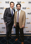 Jason Butler Harner and Matthew Saldivar attends the cocktail party for the Dramatists Guild Foundation 2018 dgf: gala at the Manhattan Center Ballroom on November 12, 2018 in New York City.