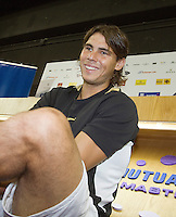 13-10-08, Spain, Madrid, Interview with Rafael Nadal