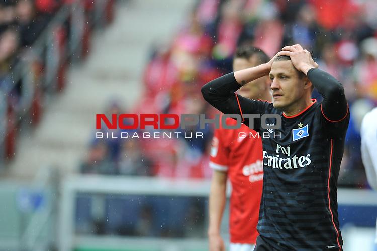 03.05.2015, cofacearena, Mainz, GER, FSV Mainz 05 vs. Hamburger SV, im Bild: Ivo Ilicevic (#11, Hamburger SV)<br /> <br /> Foto &copy; nordphoto / Fabisch