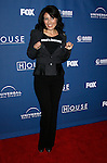 "LOS ANGELES, CA. - January 21: Actress Lisa Edelstein arrives at the ""House"" 100th episode party and NAMI charity celebration held at STK on January 21st, 2009 in Los Angeles, California."