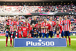 Players of Atletico de Madrid line up and pose for a photo prior to the La Liga 2017-18 match between Atletico de Madrid and UD Las Palmas at Wanda Metropolitano  on January 28 2018 in Madrid, Spain. Photo by Diego Souto / Power Sport Images