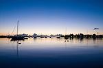 Sunrise on Port Macquarie Harbour