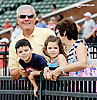 David Malatesta and family at Delaware Park racetrack on 6/26/14