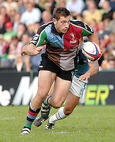 2005_06 National Division One, NEC Harlequins vs Newbury, Quins Tom Guest.  Twickenham Stoop: 17.09.2005   © Peter Spurrier/Intersport Images - email images@intersport-images..