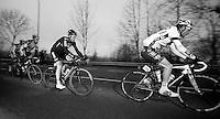 Kuurne-Brussel-Kuurne 2012<br /> Juan Antonio Flecha following Steve Chainel