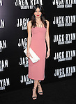 Gemma Chan attends TheParamount Pictures' L.A. Premiere of Jack Ryan : Shadow Recruit held at The Chinese Theatre in Hollywood, California on January 15,2014                                                                               © 2014 Hollywood Press Agency