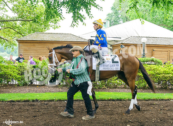 Photo Call before The Robert G. Dick Memorial Stakes (gr 3) at Delaware Park on 7/9/16