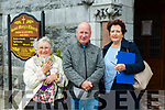 St Mary's Church, Listowel: Attending the first mass since March 17th at St Mary's Church, Listowel on Mondau last were Ena & Maurice Bunyan & Catriona O'Neill all from Listowel.