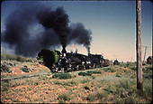 D&amp;RGW #478 double heading east of Durango.<br /> D&amp;RGW  e. of Durango, CO
