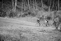 breakaway group up the Col du Rosier<br /> <br /> 102nd Li&egrave;ge-Bastogne-Li&egrave;ge 2016