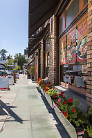 Shops and Restaurants on N. Glassell Street Old Towne Orange