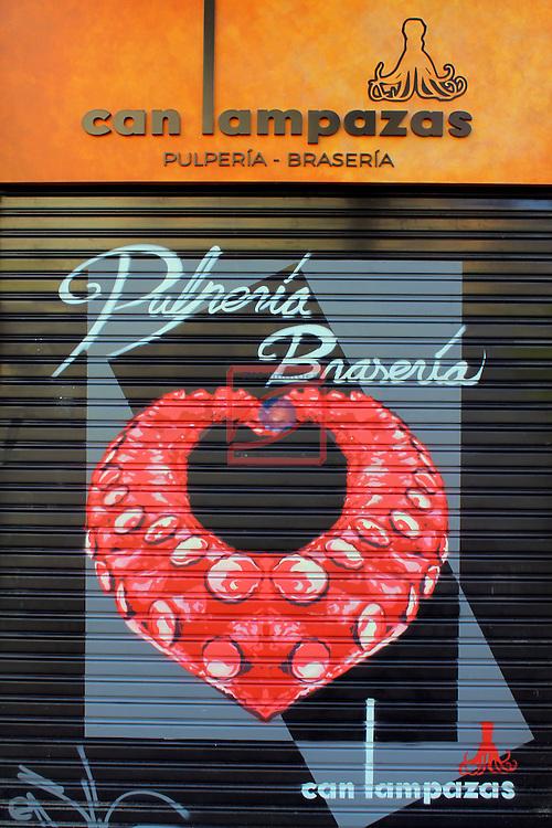 Street Art-Graffittis.<br /> Avda. Paral.lel <br /> Barcelona-Poble Sec (Sans Montjuic).