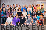 Blackwater Women's Group pictured at their annual Harvest Dance which took place in Kenmare Bay Hotel on Sat 3rd of Nov. 140 people attended. Music was by the Singing Jarvey. <br /> Back Row; L-R; Joan Egan, Abina Maguiness, Noreen O'Shea, Mary Doyle, Mary O'Farrell, Catherine Dodd, Geraldine McCarthy, Shirley Pryce, Doreen O'Sullivan, Sandra O'Shea, Noreen O'Shea, Nora Kelleher &amp; Mary O'Neill. Middle Row; L-R; Marie O'Connell, Shelia O'Connor, Amelia Dodd, Mairead Robinson, Josephine O'Neill, Tessy O'Connell, Anna Downing &amp; Maureen O'Brien. Front Row; L-R; Mary Falvey, Cait O'Shea Sheehan, Mary O'Neill, Kitty Doyle, Eileen Reilly &amp; Bridie McCarthy
