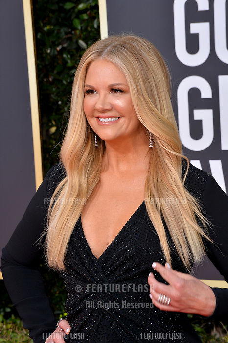 LOS ANGELES, CA. January 06, 2019: Nancy O'Dell at the 2019 Golden Globe Awards at the Beverly Hilton Hotel.<br /> Picture: Paul Smith/Featureflash