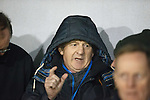 Gordon Strachan in the stand enjoying the match