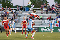 Boyds, MD - Saturday June 03, 2017: Alyssa Kleiner, Poliana Barbosa Medeiros during a regular season National Women's Soccer League (NWSL) match between the Washington Spirit and Houston Dash at Maureen Hendricks Field, Maryland SoccerPlex.