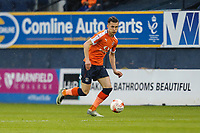Dan Potts of Luton Town during the Sky Bet League 2 Play Off Semi Final 2 leg match between Luton Town and Blackpool at Kenilworth Road, Luton, England on 18 May 2017. Photo by David Horn.