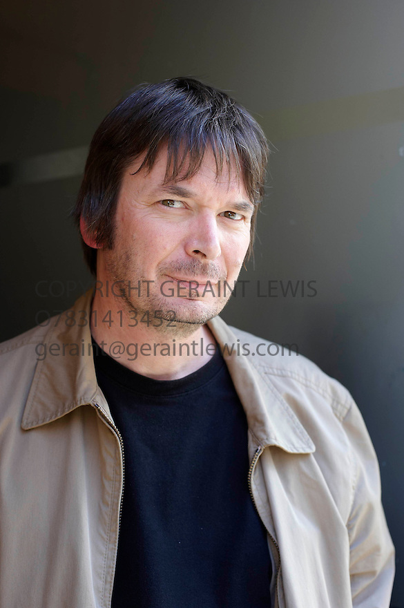 Ian Rankin ,Scottish author, in Edinbburgh.  CREDIT Geraint Lewis