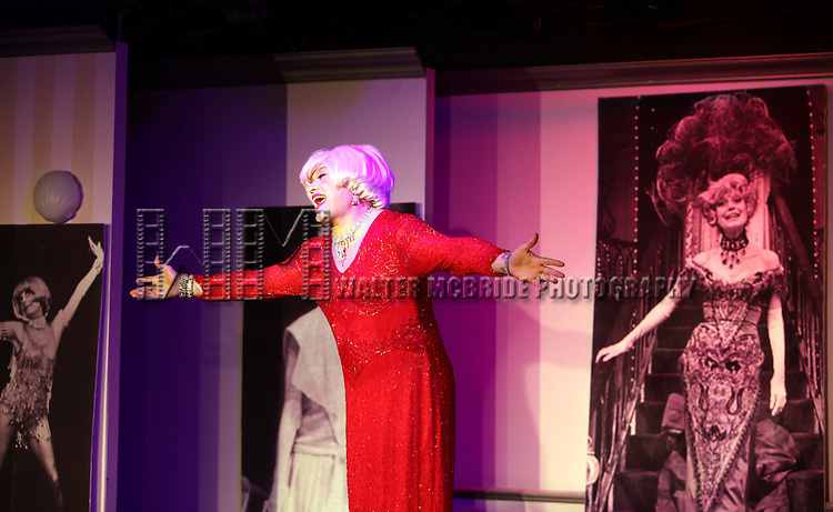 """Richard Skipper as """"Carol Channing"""" - In Concert.performing at St. Luke's Theatre in New York City"""