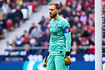 Jan Oblak of Atletico de Madrid during La Liga match between Atletico de Madrid and CD Leganes at Wanda Metropolitano Stadium in Madrid, Spain. January 26, 2020. (ALTERPHOTOS/A. Perez Meca)