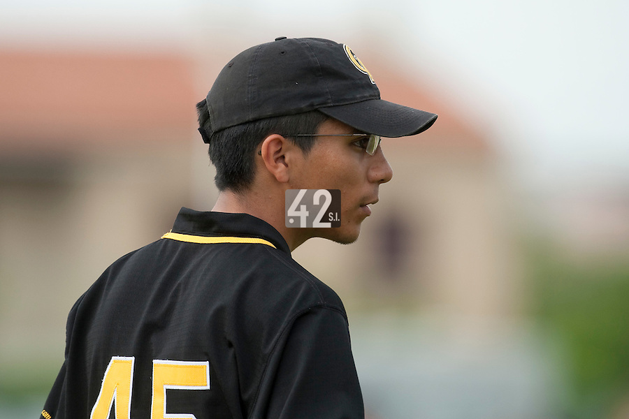 21 May 2009: Fabricio Rodriguez of Clermont-Ferrand is seen coaching during the 2009 challenge de France, a tournament with the best French baseball teams - all eight elite league clubs - to determine a spot in the European Cup next year, at Montpellier, France.