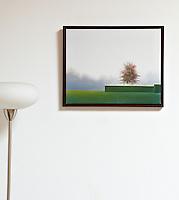 """Silence by Astrid Preston, Framed Digital print 15.5"""" x 19"""""""