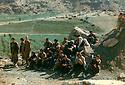 Iraq 1993.In Zahle, PKK's fighters   Irak 1993. Combattantes du PKK a Zahle avec des membres de leurs familles les visitant