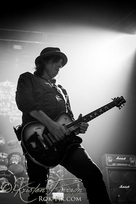Motorhead performing on the Gigantour at Mohegan Sun Arena on January 27, 2012
