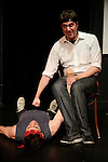 Jon Pack and Jason Kalter are Rue Brutalia. Sketchfest NYC, 2010. UCB Theatre