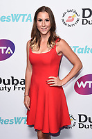 LONDON, UK. June 28, 2019: Belinda Bencic   arriving for the WTA Summer Party 2019 at the Jumeirah Carlton Tower Hotel, London.<br /> Picture: Steve Vas/Featureflash