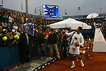 Tenis, Serbia Open 2011.Final.Novak Djokovic (SRB) Vs. Feliciano Lopez (ESP).Novak Djokovic, during ceremony.Beograd, 01.05.2011..foto: Srdjan Stevanovic