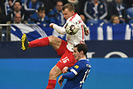 16.03.2019, VELTINS-Arena, Gelsenkirchen, GER, DFL, 1. BL, FC Schalke 04 vs RB Leipzig, DFL regulations prohibit any use of photographs as image sequences and/or quasi-video<br /> <br /> im Bild v. li. im Zweikampf Lukas Klostermann (#16, RB Leipzig) Sebastian Rudy (#13, FC Schalke 04) <br /> <br /> Foto © nph/Mauelshagen