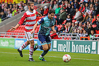 Joe Jacobson of Wycombe Wanderers during the Sky Bet League 2 match between Doncaster Rovers and Wycombe Wanderers at the Keepmoat Stadium, Doncaster, England on 29 October 2016. Photo by David Horn.
