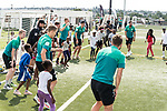 08.01.2019, AMANDLA Save Hub, Johannesburg, RSA, TL Werder Bremen Johannesburg Tag 06 - Besuch des AMANDLA Save Hub<br /> <br /> im Bild / picture shows <br /> <br /> Philipp Bargfrede (Werder Bremen #44)<br /> #Felix Beijmo (Werder Bremen #02)<br /> Max Kruse (Werder Bremen #10)<br /> Claudio Pizarro (Werder Bremen #04)<br /> <br /> **** Attention *** **** Attention *** <br /> <br /> Only be used for the purpose of documenting the Safe-Hub visit on 08 January 2019<br /> <br /> Foto © nordphoto / Kokenge