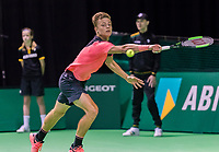 Rotterdam, Netherlands, 11 februari, 2018, Ahoy, Tennis, ABNAMROWTT, Qualifying final, Tim van Rijthoven (NED)<br /> Photo: Henk Koster/tennisimages.com