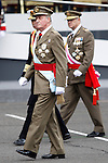 Juan Carlos I King of Spain attends the National Day Military Parad.October 12,2012.(ALTERPHOTOS/Acero)